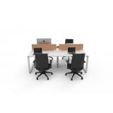 fabricante de mesa plataforma para 4 lugares Grande Méier