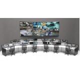 fornecedor de mobiliário técnico para centro de monitoramento Porto Feliz