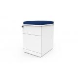 gaveteiro volante de mesa com assento orçamento Deodoro