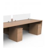 gaveteiro volante para mesa de escritório Jardim São Luiz