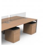 gaveteiros volantes para mesa de escritório Água Funda