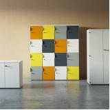 locker colorido