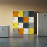 locker para área colaborativa Piraí