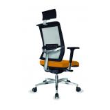 loja de cadeira para escritório giratória presidente Parque Peruche