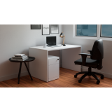 mesa branca home office Caieras