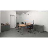 mesa de escritório diretoria em l Diadema
