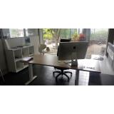 mesa de escritório home office preços Salesópolis