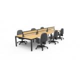 mesa de escritório moderna preço Ramos