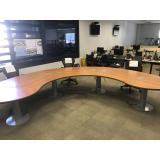 mesa de escritório planejado valor Boituva