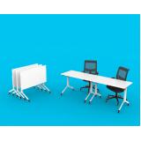 mesa de escritório rebatível Parque Peruche