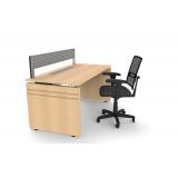 mesa de escritório simples preço Guararema