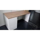 mesa de home office preços Chácara Santo Antônio