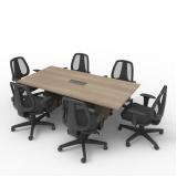 mesa de madeira escritório preço Pedreira
