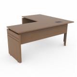 mesa de madeira para escritório valores Vila Maria