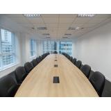 mesa de reunião diretoria orçamento Panamby