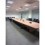 mesa de sala de reunião preço Volta Redonda