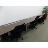 mesa de trabalho escritório Parque Anchieta