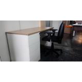 mesa e cadeira home office preços Bela Vista
