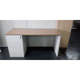 mesa home office branca preço Guaratiba