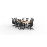 mesa para reunião diretoria orçamento ALDEIA DA SERRA