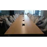 mesa para reunião diretoria Ferraz de Vasconcelos