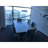 mesa de escritório para sala de reunião