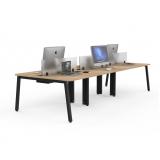 mesa plataforma para 6 lugares Jandira