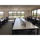 mesa plataforma para escritório preço Cantagalo