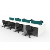 mesa plataforma para escritórios Anália Franco