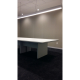 mesa sala de reunião preço Vila Romana
