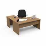 mesa de diretoria em l