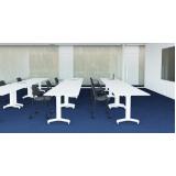 mesas de escritório rebatível Boituva
