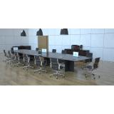 mesas modulares para sala de reunião valor Rio das Ostras