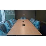 mesas para sala de reunião valor Grajau