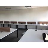 mesas plataforma individuais Quintino Bocaiuva