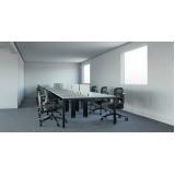 mesas plataforma para escritórios Atibaia