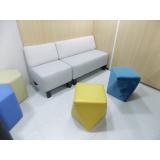 mobiliário corporativo para área colaborativa preços Poá