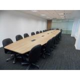 mobiliário corporativo para reunião preços Manguinhos