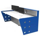mobiliário técnico com suporte de monitor barata Brás