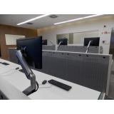 mobiliário técnico para sala de controle