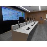 mobiliário técnico para sala de monitoramento