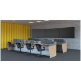 mobiliário técnico para centro de monitoramento barata Presidente Prudente