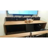 mobiliário técnico para sala de controle barata Jardim Panorama