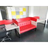 mobiliários corporativos para área colaborativa Santa Isabel