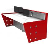 mobiliários técnicos com suporte de monitor Poá