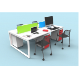 móveis coworking mesas preço Porto Feliz
