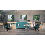móveis escritório coworking preço Alto do Pari