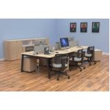 móveis para escritório coworking preços São Gonçalo