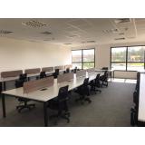 móveis para escritório plataforma de trabalho em atacado São Francisco Xavier