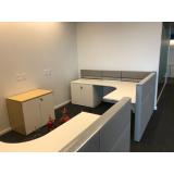 móveis projetados escritório